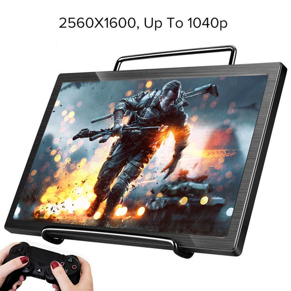 """2019 10.1/"""" 2K Screen Display Gaming Monitor HDMI 16:10 For PS3 PS4 XBOX ONE 360"""