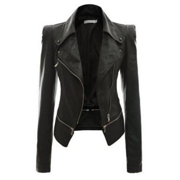 giacche in pelle da donna