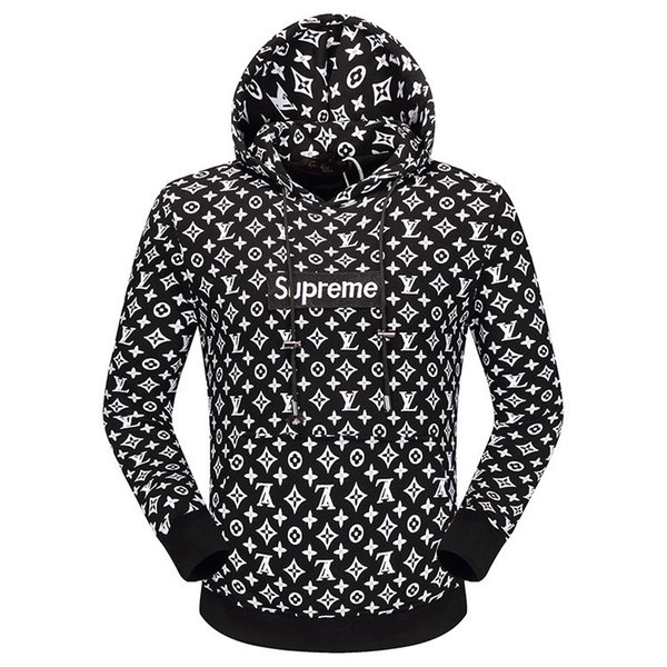 2018 Movimentos Esportivos Streetwear Designer Homens Camisola Com Capuz Sweatershirt Camisola Dos Homens Hoodies Roupas Finas de Manga Comprida Juventude Movimentos Streetwear