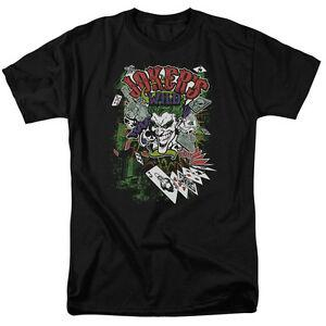 2019 Joker JOKER 039 S WILD Karten lachen lizenzierten Erwachsenen T-Shirt aller Größen