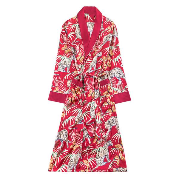 Traje de baño de primavera para hombre Traje de baño Kimono Vestido de baño de yukata Ropa de dormir suave para el hogar Ropa de dormir masculina Camisas de dormir Pijama Mujer L-XXL