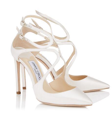 Été Lancer Sexy Stiletto talons hauts pour les femmes sandales gladiateur dames de luxe design robe habiller fête de mariage avec boîte euro 34-42 cadeau parfait