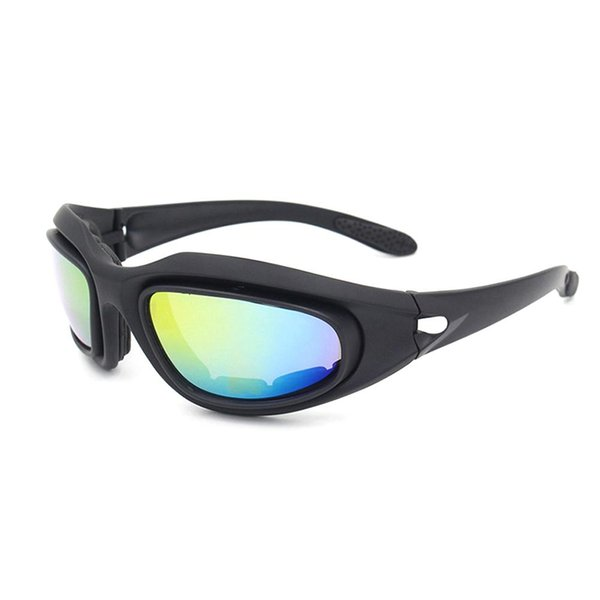 4 lentes al aire libre Ciclismo Gafas CS Gafas protectoras conjunto polarizado ejército gafas gafas de sol hombres gafas de sol deportivas
