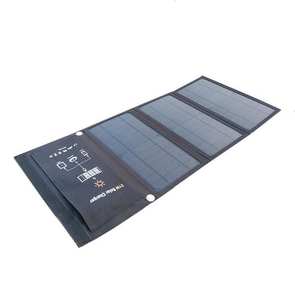 Caricabatterie solare portatile 15W 21W 28W pieghevole per cellulare Caricabatterie solare pieghevole da campeggio con doppia porta USB