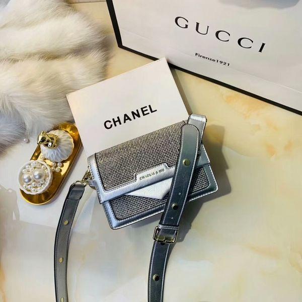 Mulheres Moda Ol Business Carta de Luxo Saco de Designer de Saco Feminino Multi-cor Cadeia de Fivela de Alta-end Marca Ombro Bolsa de Mão de Lazer