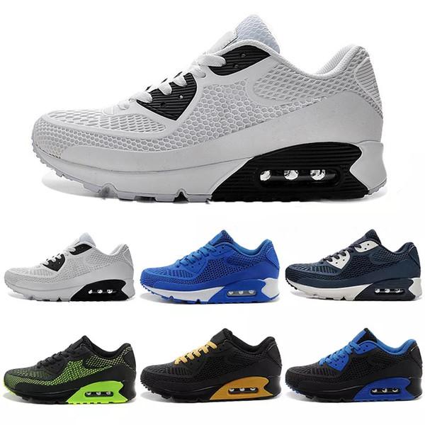 Compre Nike Air Max Airmax 90 Kpu 2018 Nuevo Alr Cushion 90 KPU Hombres Zapatillas De Deporte De Alta Calidad Zapatillas Clásicas Baratas es