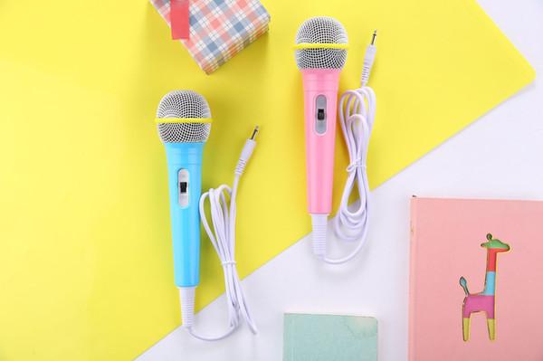 Mini microfono a condensatore auricolare KTV Songs profumo auricolare k canto tasca karaoke cuffie altoparlante portatile per telefono cellulare