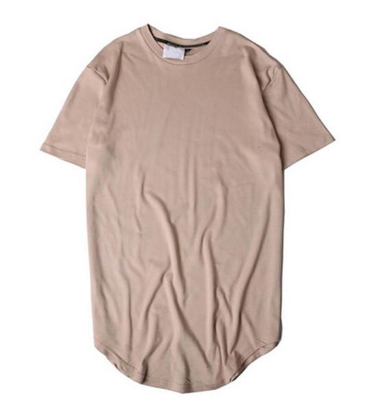 Nouveau style d'été rayé ourlet arrondi Camouflage T-shirt Homme palangres Hip Hop Camo étendue T-shirts Urban Kpop T-shirts Vêtements pour hommes