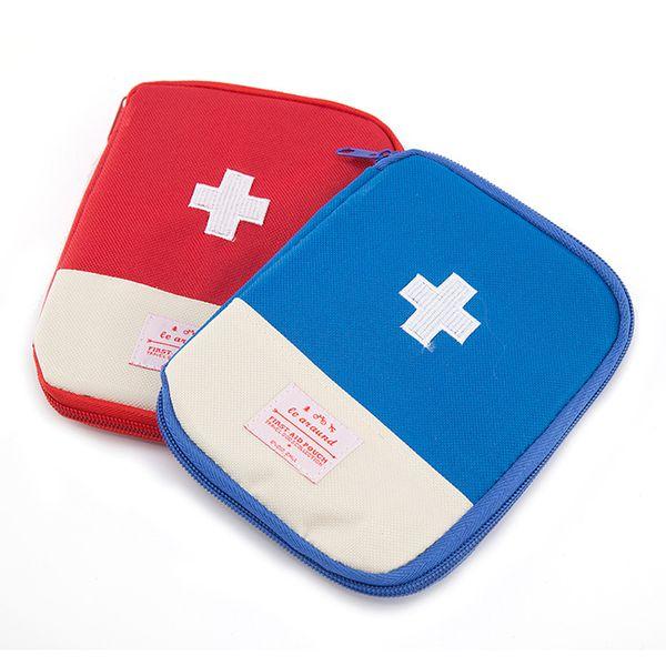 Sac de survie d'urgence portable Mini trousse de secours familiale Kits d'urgence pour la maison Sac médical pour le sport en plein air Voyage Sac de premiers secours DBC VF1555