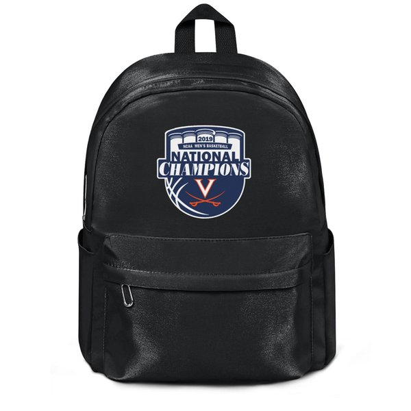 Package,backpack Virginia Cavaliers Men's Basketball 2019 NCAA National Champions black fashion personalizedpackage adjustable limited editi