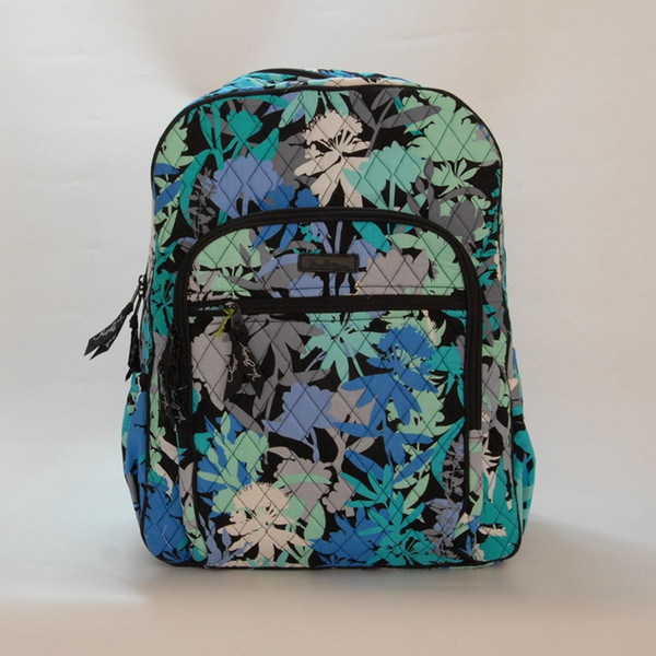Cotton Schoolbags for Sale VB Campus Backpacks Vintage Cotton School Bags for Back to School Gifts Retired Floral Large Campus Backpacks