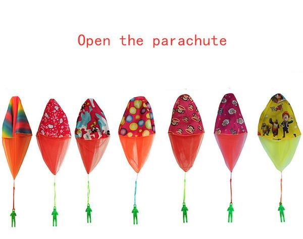 Oyuncak Paraşüt Paraşüt oyuncaklar Asker paraşüt Kök oyuncak El-göz koordinasyonu Souptoys Gelişim oyuncaklar Eğitim oyuncaklar