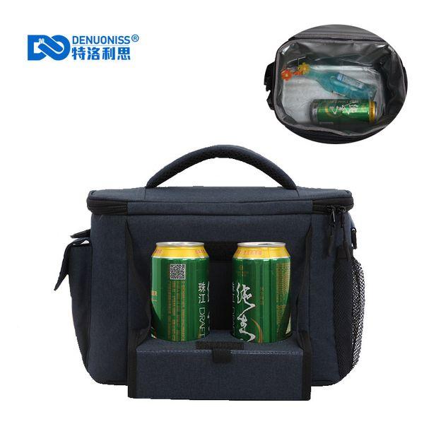 Reusable Large Soft Picnic bag Soft Cooler Tote Bag Insulated Lunch with Leakproof Liner Detachable Shoulder Strap B142