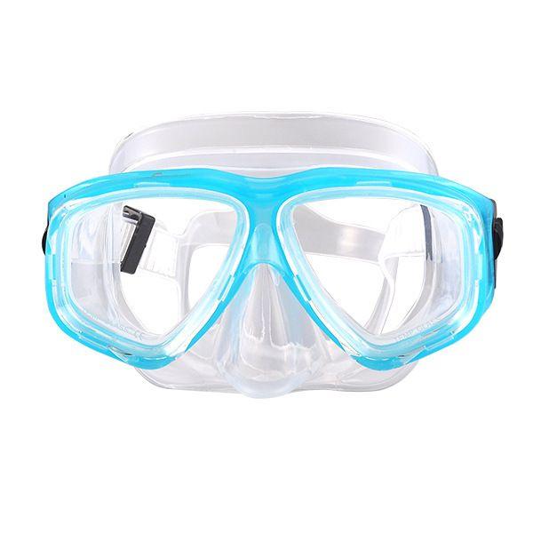 Hot professional diving mask underwater anti-fog full face snorkeling mask ladies men's children swimming diving equipment