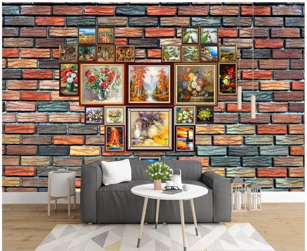 3d Wallpaper Custom Photo Hand Painted Oil Painting Photo Wall Collage Restaurant Room Home Decor 3d Wall Murals Wallpaper For Walls 3 D Car
