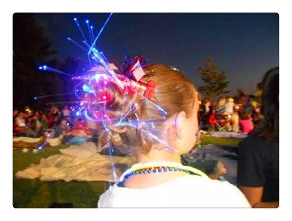Coloré Flash LED Lumière Led Ballon Transparent Clignotant Décorations De Fête De Mariage De Vacances Cheveux Tresse Shine Décoration Flash