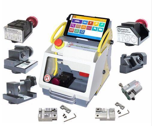 2019 DHL free Full Automatic SEC-E9 Key Cutting Machine Auto Key Programmer For All Cars SEC-E9 Key Cutting Machine Silca Machine