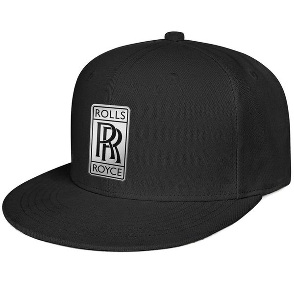 Женская Мужская Обычная Регулируемая Rolls Royce Logo Хип-Хоп Хлопок Крышка Крикет Летние Шапки Кадетские Армейские Шапки Воздушные Сетки Шляпы Для Мужчин Женщин