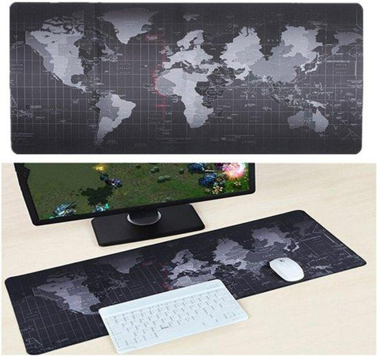 World Map Gaming Mousepad