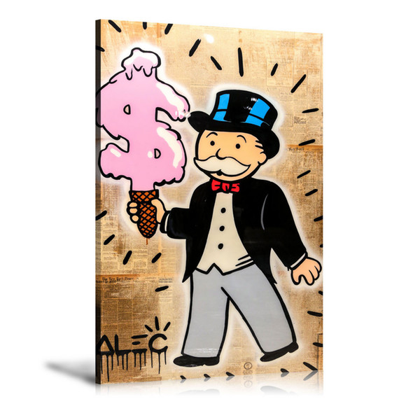 2019 Unframed Framed Alec Monopoly Ice Cream Home Decor Hd Printed Modern Art Painting On Canvas 16x24 From Love3paintings 5 98 Dhgate Com