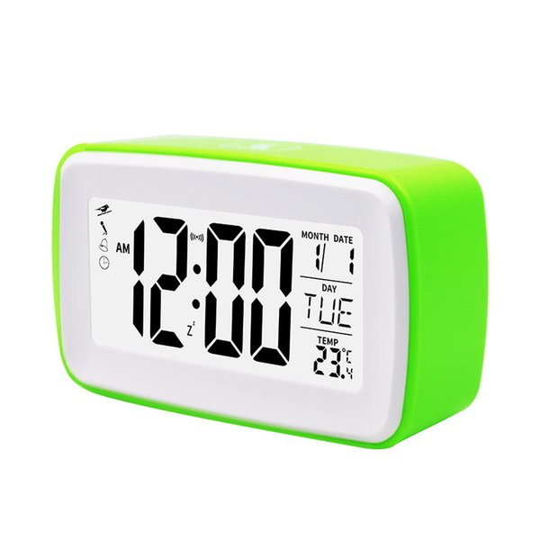 recording night light led digital desk touch control travel non ticking battery operated bedroom snooze function alarm clock - from $16.94
