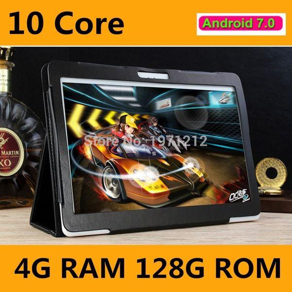 10 Core tablet New 10 inch tablet Deca Core 4GB RAM 128GB ROM 4G FDD LTE 1920x1200 IPS 8.0MP Dual SIM Card PC 10.1