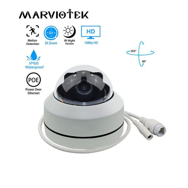 1080P HD PTZ IP Camera Outdoor Waterproof home security Mini Speed Dome Camera IP Onvif 3X Zoom P2P IR Night Vision POE Optional