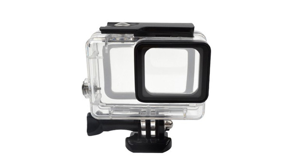 Gopro accessopries 45m Underwater Diving Waterproof Protective Case Shell Cover Housing Skeleton frame for Gopro hero 5/6 Acrylic Clear