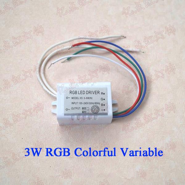 RGB 3-6W متغير ملون