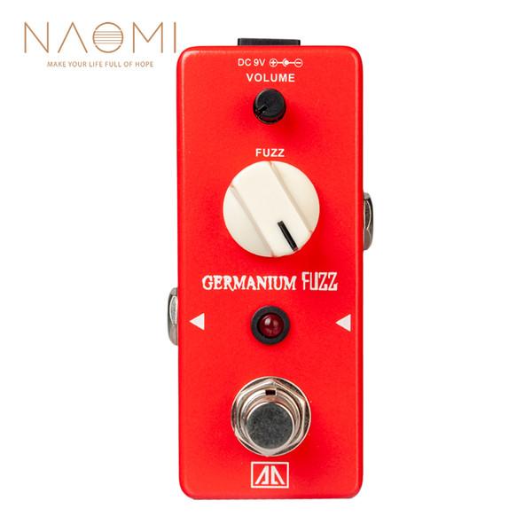 NAOMI Guitar Effect Pedal Aroma AGF-5 Germanium Transistor Fuzz True Bypass Guitar Parts & Accessories New