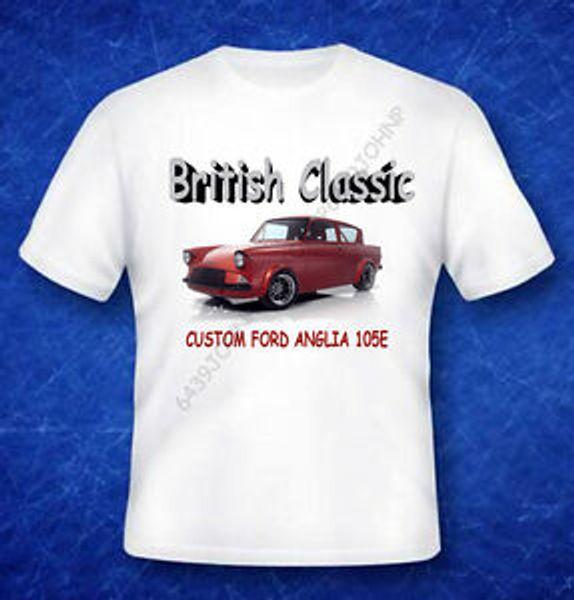 BRITISH CLASSIC,Hip hopANGLIA 105E CUSTOM, ENTHUSIASTS T SHIRT