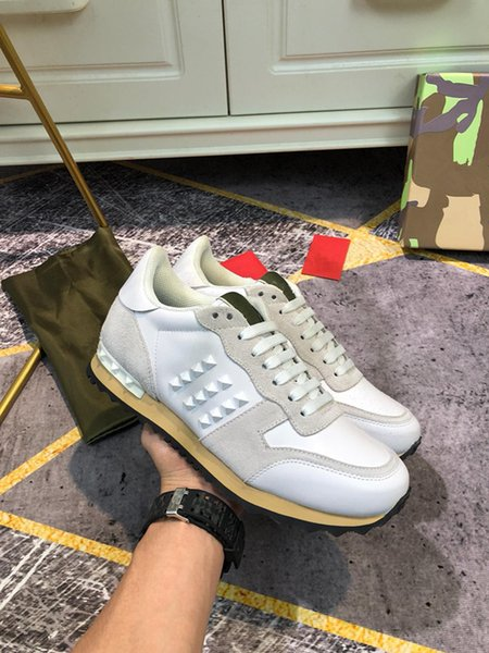 2021 top quality floral technical canvas womens designer brand Chiffon printed sneakers designer shoes ladies