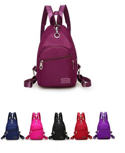 nova versão coreana de oxford-estilo cross-body bag multi-funcional mochila de viagem ao ar livre