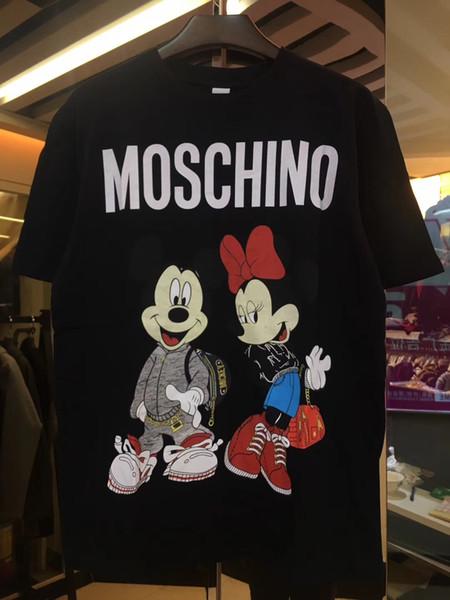 بولو قميص أوم 2019 2020 أزياء طباعة قصيرة الأكمام يتأهل ميدوسا القمصان الرجال روبن ماركة بولو بلايز مع التطريز النحل بولو