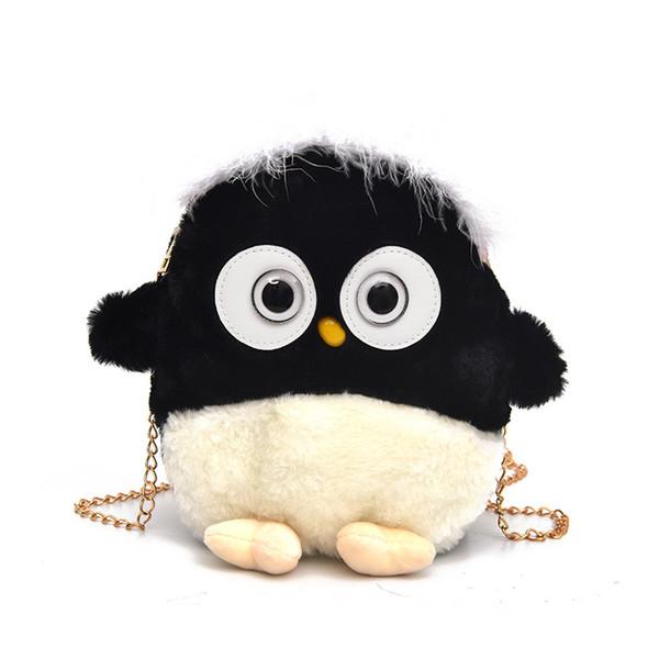 good quality Women Handbags Leather Shoulder Bags Female Cute Penguin Solid Handbag Casual Tote Bag New Crossbody Handbags Bags