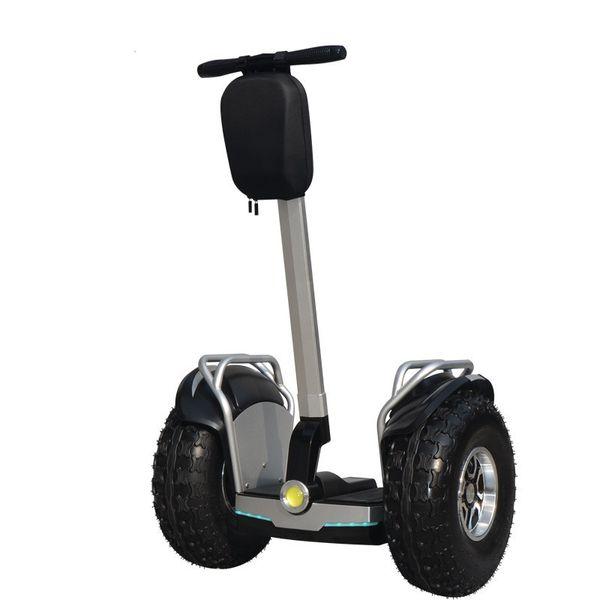 Daibot Off Road Elektrikli Scooter Yetişkin İki Tekerlekler Öz Dengeleme Scooter 2400W 60V Uçuç Kaykay ile APP / Bluetooth