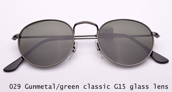 029 gunmetal / G15 Glaslinse