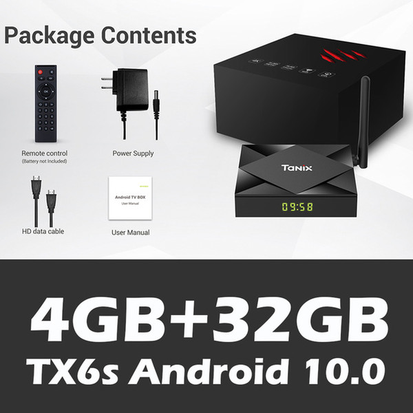TX6s 4GB+32GB,with 2.4G+5G wifi, with BT