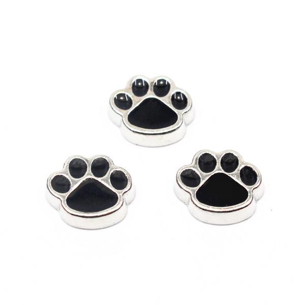 Chegam novas 20 pçs / lote liga de cão encantos flutuantes de vidro de memória flutuante medalhões encantos para DIY Acessório