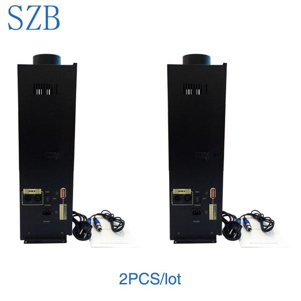 2 PCS SZB 200W DMX projetant des projecteurs d'incendie de flamme de machine d'incendie avec l'effet d'exposition / SZB-FT200