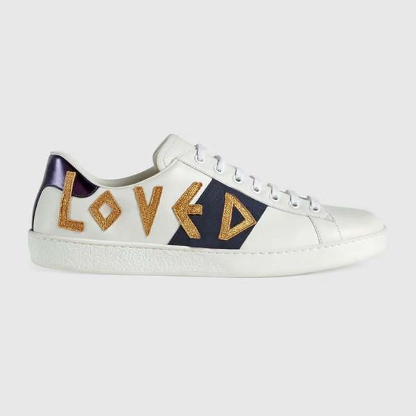 Snake Designer Men Women Sneaker Casual Shoes Low Top Leather Sneakers Ace Bee Stripes Shoe Walking Sports Trainers Drop Shipping