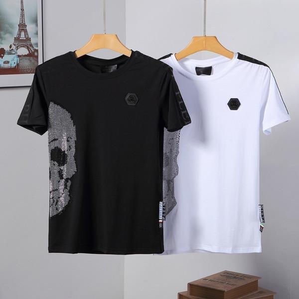 2019 nouveaux T-shirt à manches courtes revers POLO shirt 060747 de la mode haut de gamme pour hommes