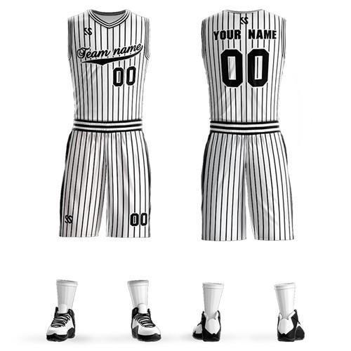 2019 hot sale of the latest basketball uniform casual outdoor quick-drying waterproof custom pattern to create your own basketball uniform