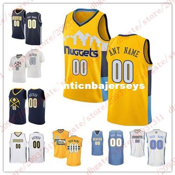 Дешевые пользовательские новый баскетбол Джерси настроить любое число любое имя мужская молодежь женщины сшитые персонализированные желтый синий белый жилет трикотажные изделия