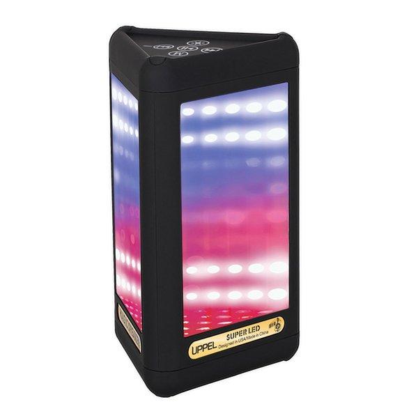 Altoparlanti Bluetooth 4.0 LED wireless portatile Modalità di visualizzazione visiva Microfono incorporato Vivavoce IJS998