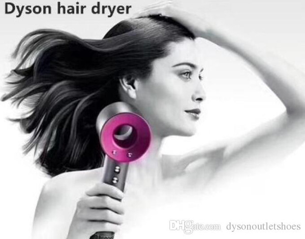 Discount Dysons Superson Hair Dryer Professional Salon Tools Blow Dryer Heat Super Dry Hair Dryers with retail package on sale with box