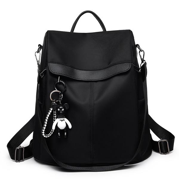 Backpacks Bag Leisure Oxford Women Backpack Female Cute Canvas Fashion Backpack Femal Design For Girls Leisure Travel School J190630