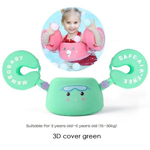 3D Arm float green