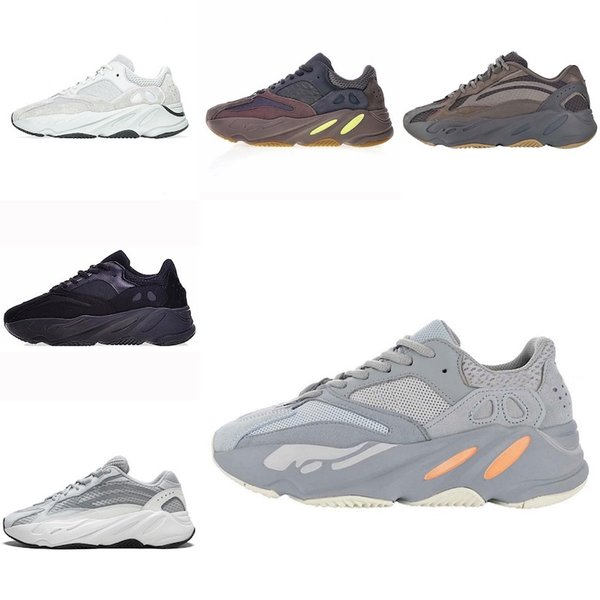 Adidas Yeezy 700 Nouveau gros Kanye West 700 Wave Runner Chaussures Hommes Casual sports des femmes sport course taille Sneakers eur 36-45