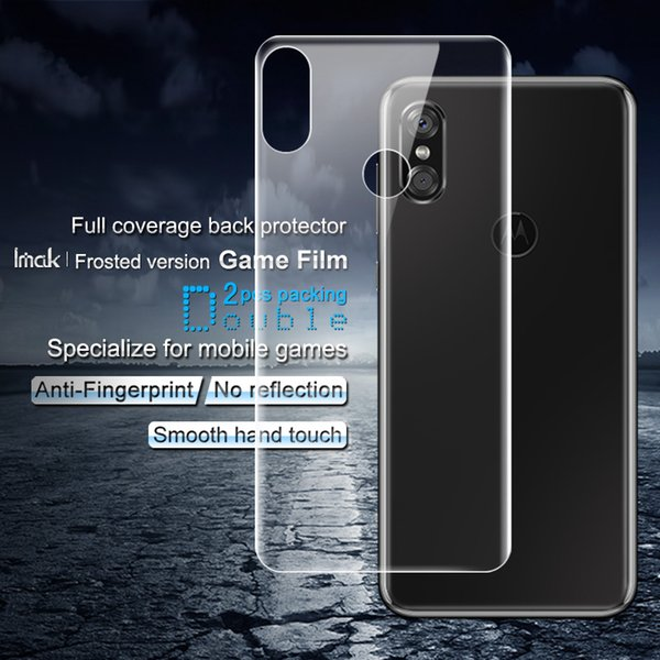 2PCS IMAK Films for Motorola P30 Frosted Hydrogel Game Film Full Covering Anti-scratch Screen Protector Film for Motorola P30